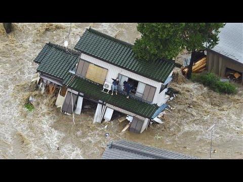 Japan Floods Affect Tens of Thousands