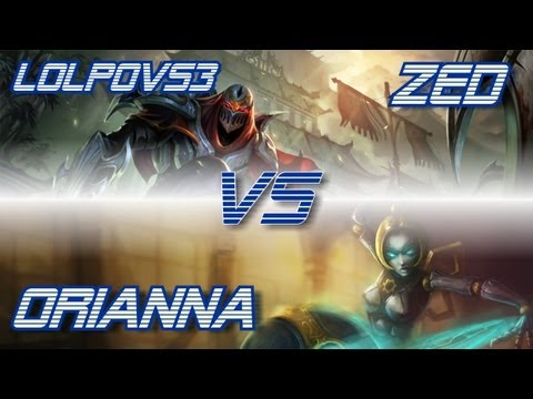► LoLPoV - Zed vs Orianna [Mid] (League of Legends Live Commentary)