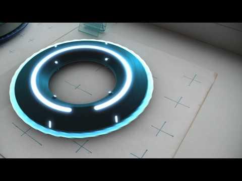 Tron Legacy LightDisc matchmoving V2