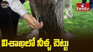 Water Coming Out From Tree | Vizag | Jordar News  | hmtv