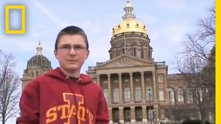 National Geographic Bee 2013 - IA Finalist