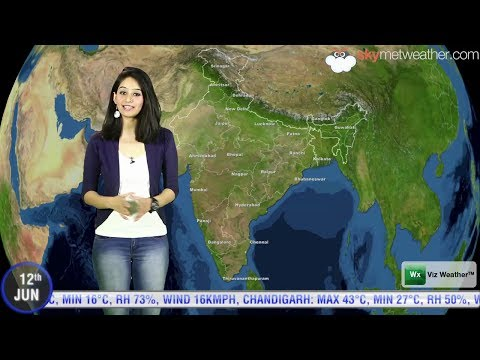 12/06/14   Skymet Weather Report For India