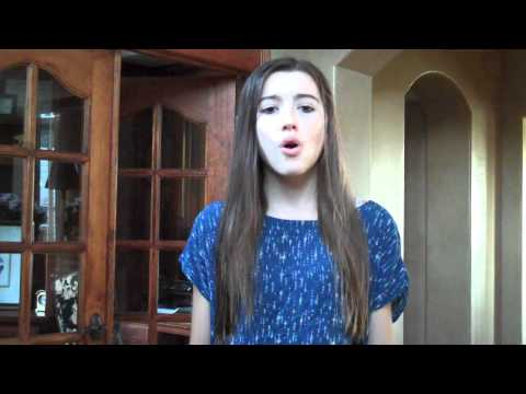 Girl On Fire- Alicia Keys (cover) video