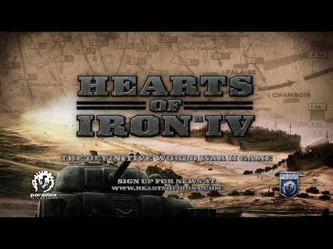 Hearts of Iron IV - Announcement Trailer