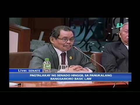 Senate Inquiry on the Draft of the Bangsamoro Basic Law - PTV Coverage [09/23/14]