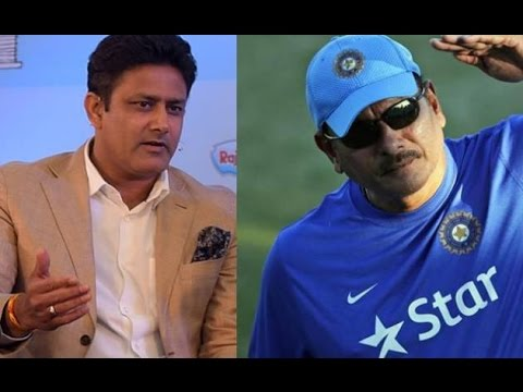 Ravi Shastri or Anil Kumble to Be Indian Cricket Team's Coach