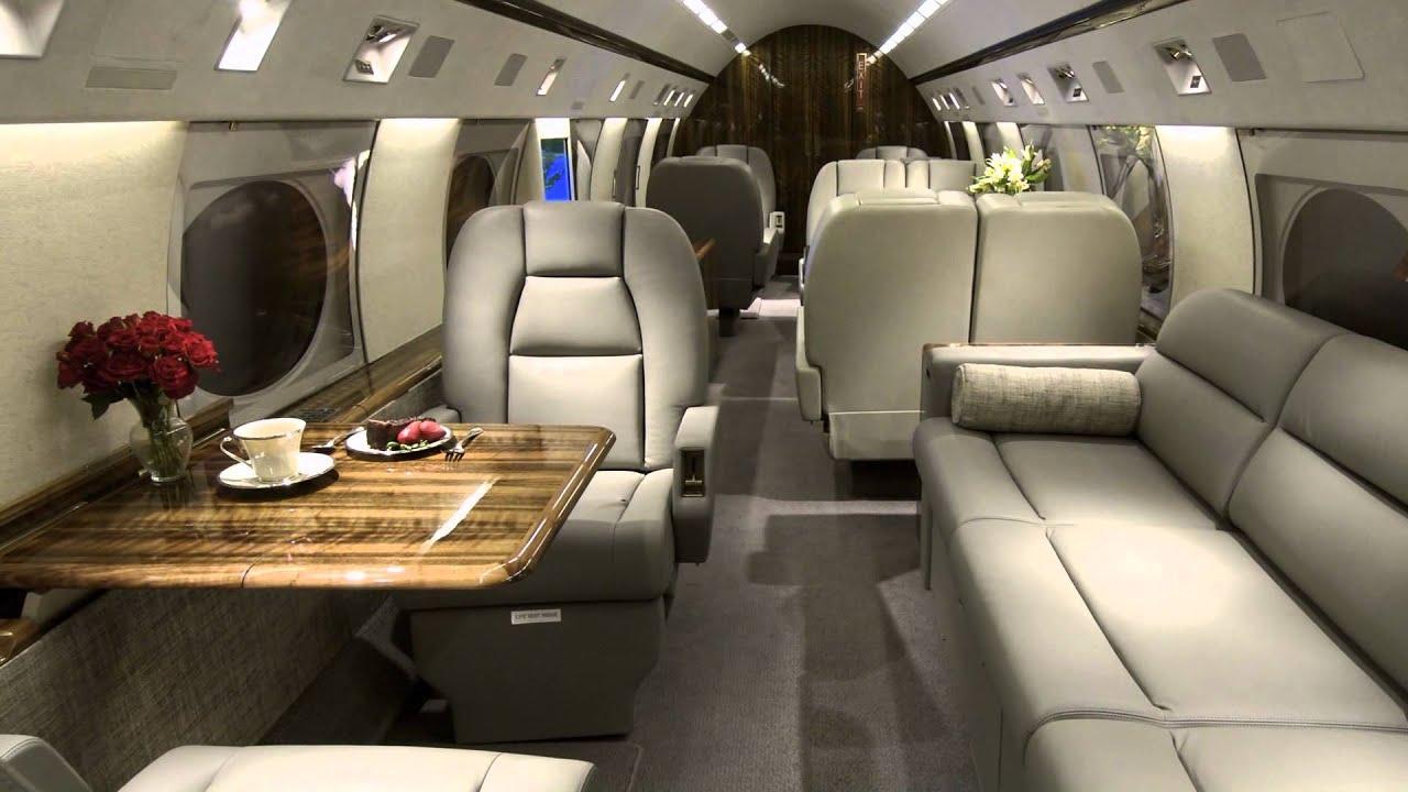 Step on board youtube for Gulfstream v bedroom