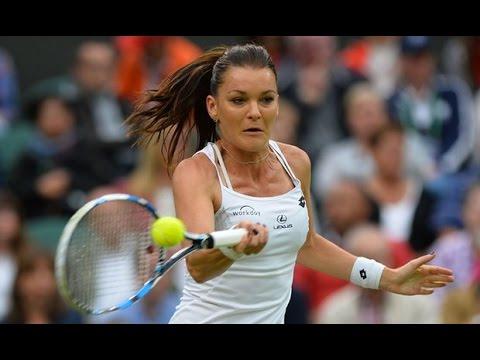 [HD] Agnieszka Radwanska vs Ana Konjuh Wimbledon 2016 Highlights