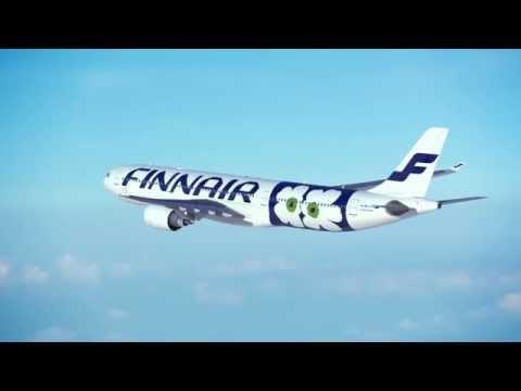 Brand new Finnair livery by Marimekko (Airbus A330)