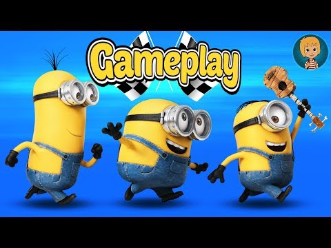 Minions despicable me 3 rush gameplay Six Levels