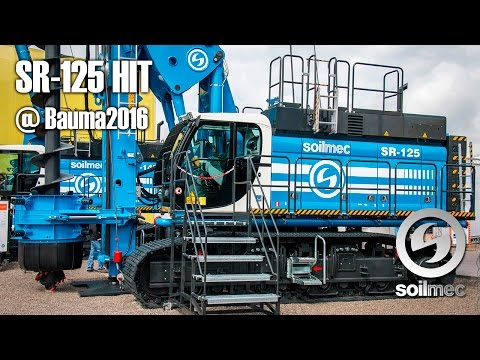 SR-125 HIT at bauma 2016
