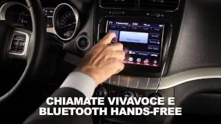 Il computer di bordo di Fiat Freemont: multimedialità a portata di mano