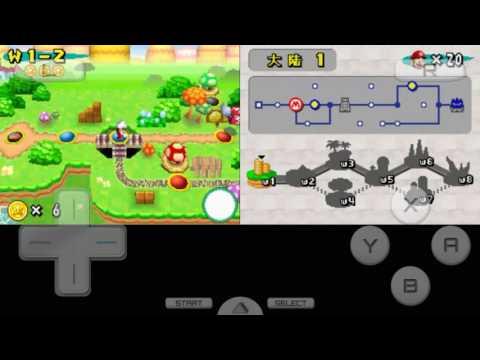 【新超級瑪莉歐兄弟-NDS】《New Super Mario Bros》[World1] (part1)