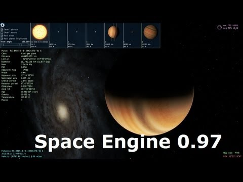 Space Engine - 0.97 Update - 129798398239873 Things To Explore (Approximately)