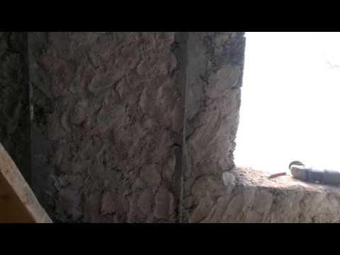 Штукатурка стен своими руками арболита 79