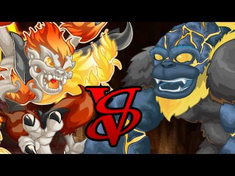Miscrits Showdown #58: Charpy vs. Light Lavarilla