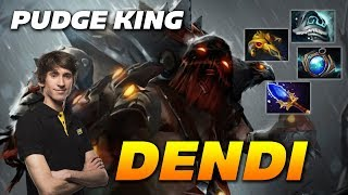 Dendi Pudge KING | Dota 2 Pro Gameplay