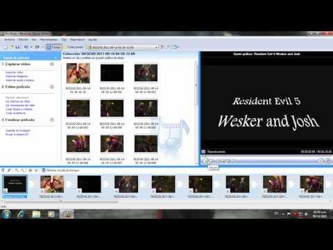 Como comprimir los videos de fraps con Windows Movie Maker 2.6