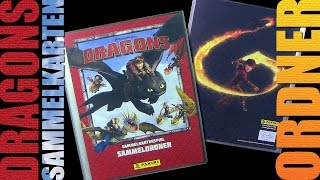 Dragons - Panini ® Trading Card Game - Sammelordner - Unboxing / 2015 Re-Upload