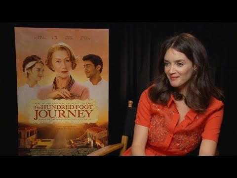 Charlotte Le Bon - The Hundred-Foot Journey Interview HD