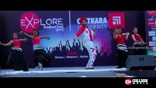DX GENERATION DANCE CREW Punjab University | Explore 2016 | Last 3 Mins is must