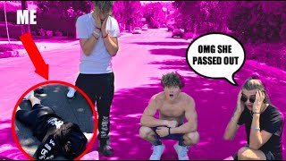 I Fell Off My Skateboard *Sam Hurley FREAKS OUT*