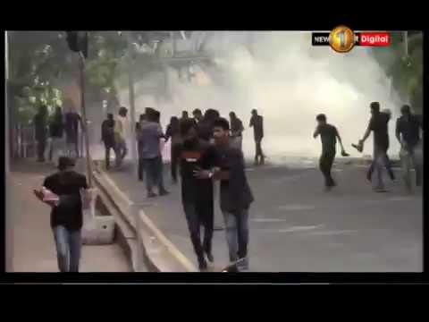 police fires tear ga|eng