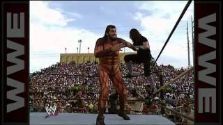 The undertaker vs giant gonzalez at wrestlemania ix 720p hd