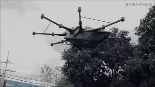 Nhà phát minh Philippines thử nghiệm xe bay lai drone