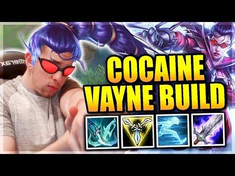 SPEED DEMON VAYNE BUILD IS AGILE |  COCAINE VAYNE - League of Legends