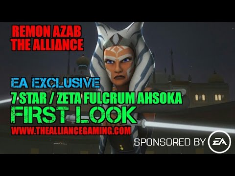 Star Wars Galaxy Of Heroes: EA Exclusive First Look 7 Star / Zeta Fulcrum Ahsoka Tano - SWGOH