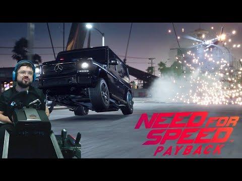 Крышесносные погони с летающим уё*ищем! - Need for Speed Payback