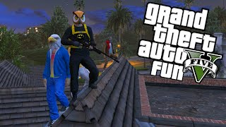 GTA 5 Next Gen Fun - Night Owl & Early Bird, Five Star Panto Getaway Fails