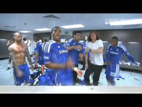 Didier Drogba - Chelsea 2012 FA Cup Celebrations HD
