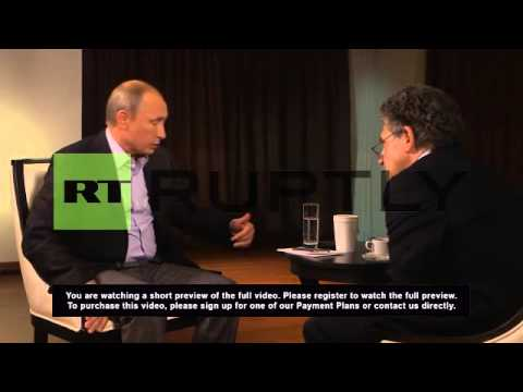 Russia: 'International law not violated over Crimea' - Putin