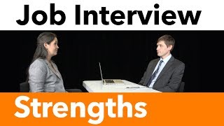 How To Talk About Your Strengths and Weaknesses | Mock Interviews | How to Prepare for an Interview