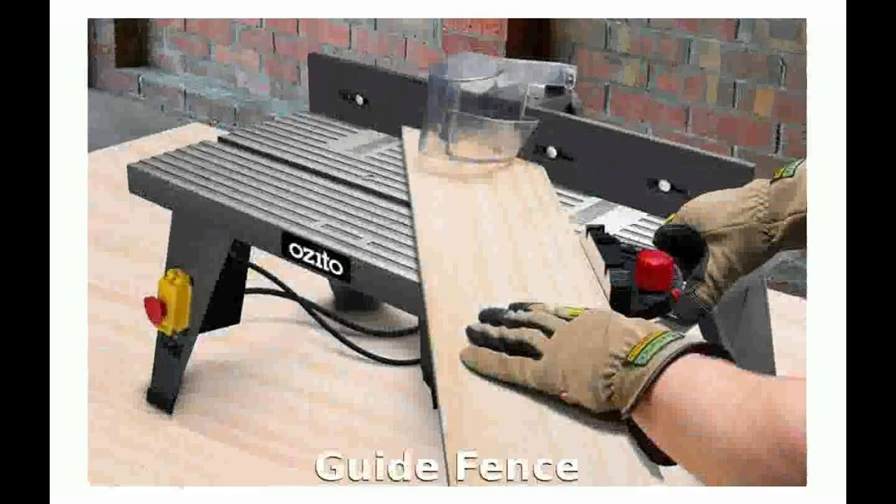 Plunge Router Table Router Ozito Prr 850 Plunge Router