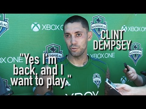 Interview: Clint Dempsey on Returning From the World Cup