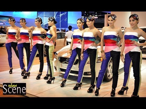 Bangkok Motor Show Girls, March 2011.