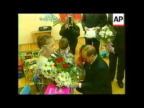 SIBERIA: VLADIMIR PUTIN VISITS CITY OF IRKUTSK