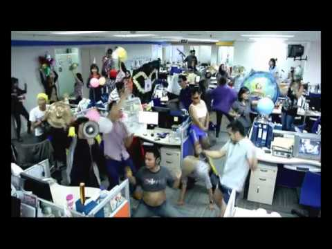Harlem Shake GlobalTV Indonesia (GlobalTV Lt. 6)
