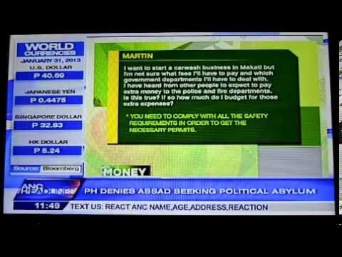 ANC Danilo Antonio Interview MONEY TALKS
