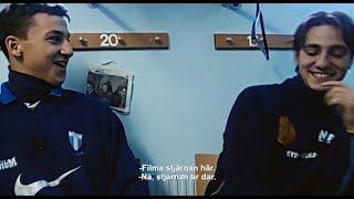 Zlatans okända flickvän före Helena Seger