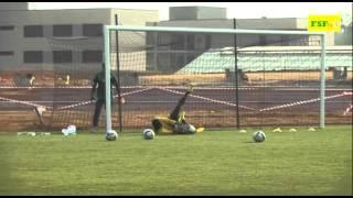 CAN 2015 | 2eme séance d'entraînement des Lions à Mongomo
