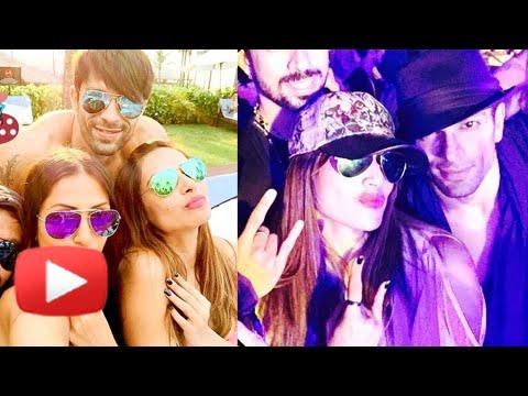 Bipasha Basu And Karan Singh Grover Hot Romance In Goa | New Years Eve video