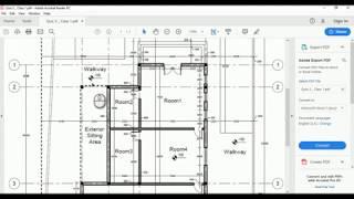 Lec. 7_5 Quiz 3_Class 1- Drawing a Plan in AutoCAD [AutoCAD Basics]
