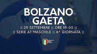 Serie A1M [4^ giornata]: Bolzano - Gaeta 26-26