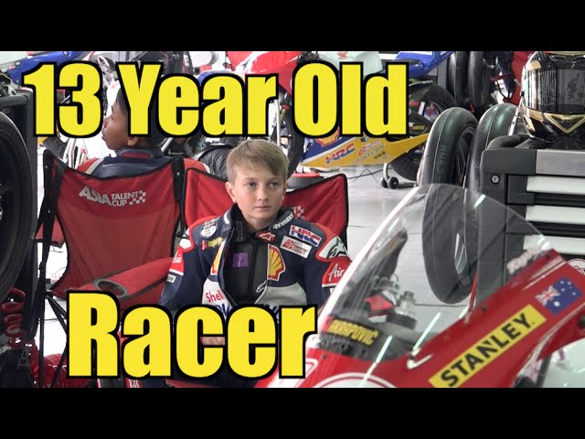 13 Year Old Lachlan Taylor Riding Super Bikes