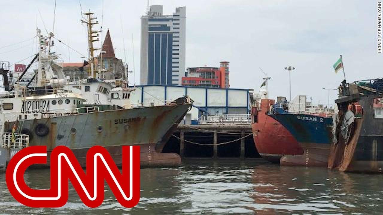 CNN catches North Korean fishermen dodging sanctions
