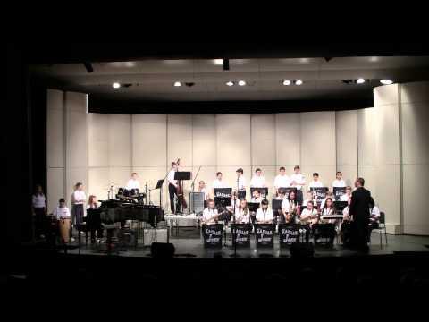 Harbour Pointe Middle School Jazz Band Kamiak Jazz Festival 3/2013 Freddie Freeloader